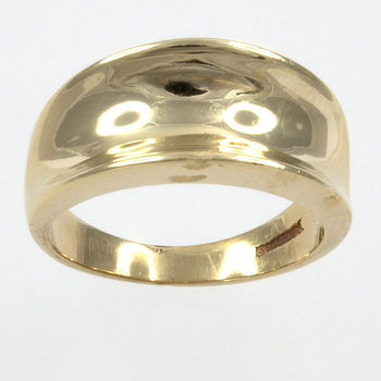 9ct gold fancy Ring size K