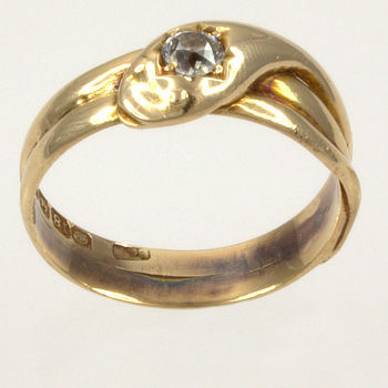 18ct gold Diamond fancy Ring size P