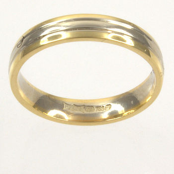 18ct gold 3.0g Band Ring size L