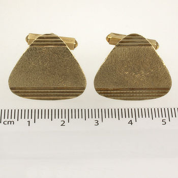 9ct gold 8.8g Cuff-links Men's jewellery