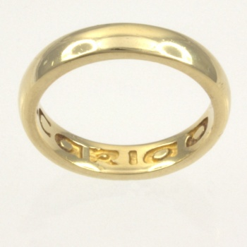9ct gold Clogau Band Ring size N