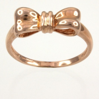 9ct rose gold fancy Ring size T