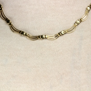 9ct gold 14.3g Necklace
