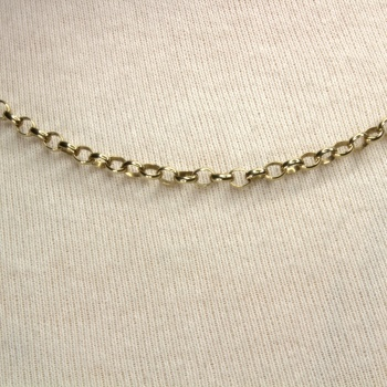 9ct gold 18 inch / 46 cm belcher Chain