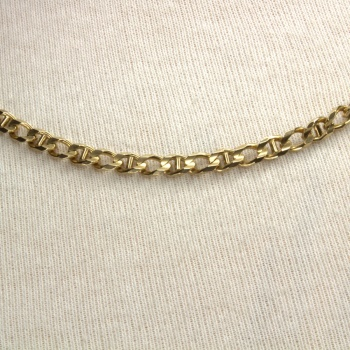 9ct gold 21 inch / 53 cm marine Chain