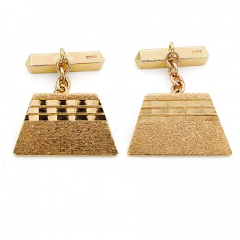 9ct gold 10.4g Cuff-links