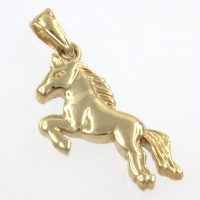 9ct gold Horse Pendant