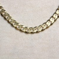 9ct gold 20 inch / 51 cm curb Chain