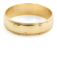 9ct gold 1.9g Band Ring size K