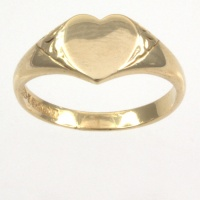 9ct gold 2.8g Signet Ring size N