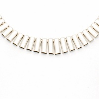 9ct white gold(hollow) 14.1g 16 inch / 41cm Necklace