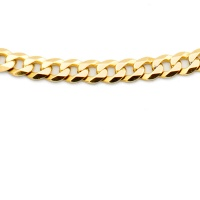 9ct gold 24.2g 23 inch / 58 cm curb Chain